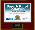 Avvo Superb Rated Attorney 2014